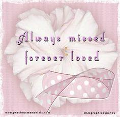 Always missed... forever loved