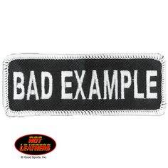 Embroidered patch with heat sealed backing. Perfect for leather jackets and leather vests. Bag Pins, Ace Of Spades, Babe Quotes, Morale Patch, Kids Stickers, Pin And Patches, How To Run Faster, Wearing Black, Rogues