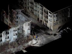 The Ghosts Of Buildings Captured By 3D Scanning