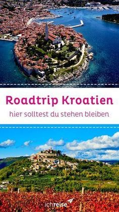 Road Trip: 5 Places you must have seen in Croatia- Roadtrip: 5 Orte, die du in Kroatien gesehen haben musst You make a road trip through Croatia? Europe Destinations, Koh Lanta Thailand, Croatia Travel Guide, Road Trip, Holiday World, Travel Tags, Reisen In Europa, Voyage Europe, Weekend Trips