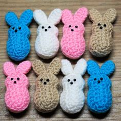 Easter Marshmallow Bunnies By Doni Speigle - Free Crochet Pattern - (ravelry)