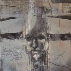 Rustic Design, Figurative Art, Guy, Drawings, Type 1, Collagen, Theater, Mixed Media, Portraits