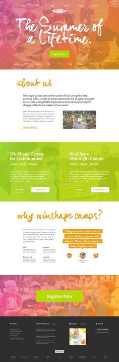Unique Web Design, Winshape #WebDesign #Design (http://www.pinterest.com/aldenchong/)