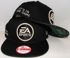 EA Sports It's In The Game NFL Football Madden 18 NBA2K MLB 9FIFTY Snapback Hat #NewEra #BaseballCap Nfl Football, Mlb, Ea Sports, Hats For Sale, Snapback Hats, Baseball Cap, Games, Ball Caps, Gaming