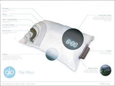 Glo Pillow : How do we integrate the clock into our daily lives?