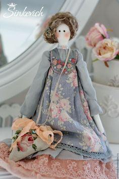 Купить Лея - тильда, тильда кукла, кукла ручной работы, кукла интерьерная, кукла текстильная