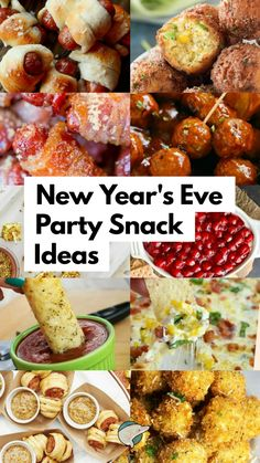 28 New Year's Eve Party Appetizers: Fun Snacks 2019 is almost here, isn't that crazy? No matter how you're celebrating New Year's Eve, here are some must-have party appetizers for your guests to snack on! New Years Eve Snacks, New Year's Snacks, New Year's Eve Appetizers, New Years Eve Dinner, Finger Food Appetizers, Snacks Für Party, Appetizer Recipes, New Years Eve Party Ideas Food, Best Party Appetizers