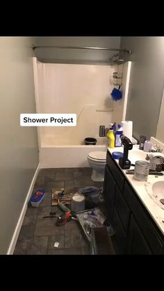 Home Remodeling Diy, Home Renovation, Diy Home Repair, Bathroom Renos, Bathroom Interior Design, Remodels, Bathroom Inspiration, Home Projects, Home Furnishings