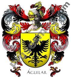 escudo de armas apellido aguilar - Buscar con Google