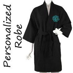 Personalized Bridesmaid Robe ,Monogrammed Robe, Waffle Robe, Personalized Bridesmaid Gifts on Etsy, $25.00