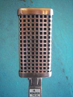 Vintage 1960's Monarch TM 16 Dynamic Microphone Aiwa Old Midland Japanese 3 | eBay