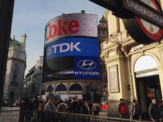 That's Piccadilly Circus!