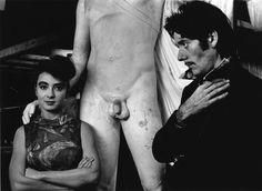 Les Rita Mitsouko par Robert Doisneau, 1988.