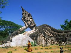 Buddha Park, Laos.    http://travel.nationalgeographic.com/travel/countries/laos-guide/#