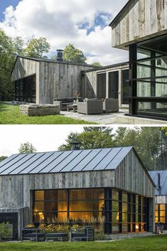 Woodshed Vermont Guest House / Birdseye Design