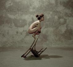 Surrealism Like A Bird Fine Art Print - Katerina Bodrunova