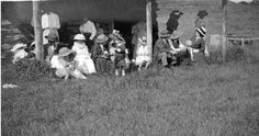 Saturday afternoon at the Polo Club in Millarville, Alberta 1912 Photos by: Marlene Jerrod