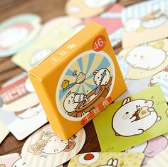 46 pcs/pack Cute Molang Rabbit Label Stickers Decorative Stationery Stickers Scrapbooking DIY Stickers TA208 #>=#>=#>=#>=#> Click on the pin to check out discount price, color, size, shipping, etc. Save and like it!