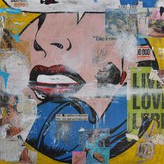 Pop Art Graffiti - New York