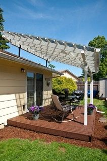 SkyLift Patio Cover - Contemporary - Patio - portland - by C&R Remodeling