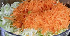 newnew-new-sal-mat-1068x561 (1) Diet Menu, Carrots, Cabbage, Good Food, Food And Drink, Low Carb, Vegan, Vegetables, Cooking