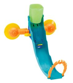 Hot Wheels Fun In The Tub Playset This Hot Wheels set makes a big splash with kids! The steep track attaches to the tub with included suction cups. Kids load their vehicle and fill the cup with water....
