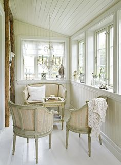 White conservatory