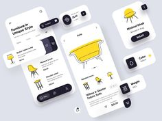 App Ui Design, Mobile App Design, Branding Design, Web Design, Interface Design, User Interface, Conception D'applications, Application Mobile, Mobile App Ui