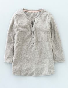 Easy Jersey Shirt WO034 Long Sleeved Tops at Boden