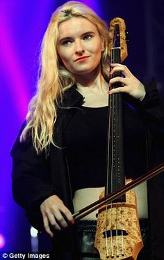 The 29-year-old is a cellist with the electronic band Clean Bandit...