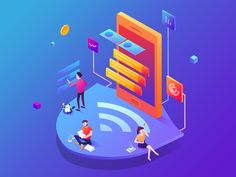 We've been doing some updates here and there on wifi manager.  Please press 'L' if you like my shot or follow me to find more ui&animation design!
