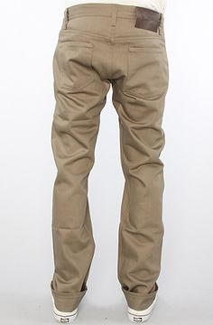 Naked & Famous The Weird Guy Jeans in Selvedge Chino Sand Wash, Save 20% off with Rep Code: PAMM6 #karmaloop #fashion