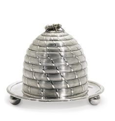 A George III silver beehive honey pot, Paul Storr, London, 1802 | lot | Sotheby's