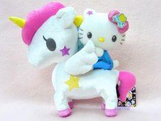 Tokidoki x Hello Kitty Series 4 - Unicorn Plush by brilliant moon for princess, via Flickr