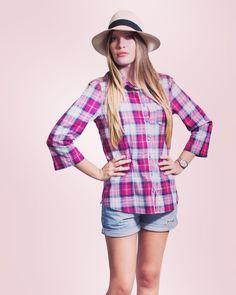 Mama Düi - Isla de Margarita @mamadui                  #diseñovenezolano #hechoenvenezuela #moda #camisaleñadora #mamadui #dama #ladies #shirtlumberjack #cuadros #colores #estilo #style #tendencia #trend #streetstyle #margarita
