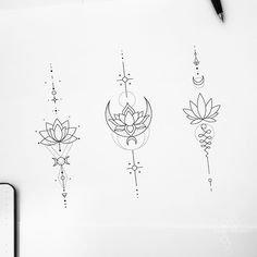 Lotus tattoos - lotus tattoo designs fedor nozdrin Informations About Lotus tattoos Pin You can easily use my profil - Spine Tattoos, Love Tattoos, Unique Tattoos, New Tattoos, Body Art Tattoos, Small Tattoos, Tatoos, Unalome Tattoo, Mandala Sternum Tattoo