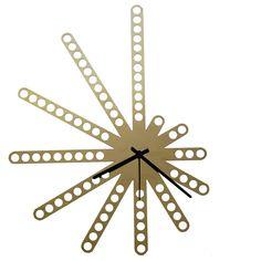 Wall clock meccano - design for modern interior
