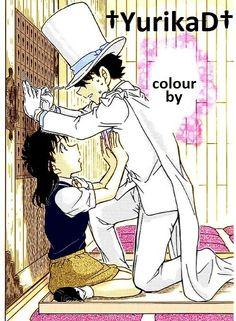 Aoko Nakamori, KID, Magic Kaito, Chapter 36. colourful by †YurikaD†