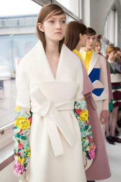 DELPOZO Fall 2016 Backstage