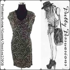 "Michael Kors Brown & White Sleeveless Dress Measurements taken in inches:   . Length 36"" . Bust 34"" . Waist 28"" . Hips 30""  Thank You. XoXo ~ item # C0320MKD MICHAEL Michael Kors Dresses"