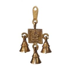 Get Online Brass 1Stage Ganesha Hanging bell at Puja Shoppe. Buy puja samagri online from pujashoppe stores please contact us: https://www.pujashoppe.com/contact-us/