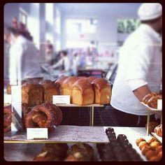 pastries at Bottega Louie