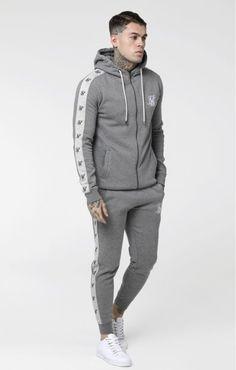 Gym King pour homme Core Plus Survêtement Homme Zip Thru Sweat à Capuche Sweat-shirt noir 0007