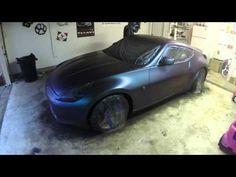 Nissan 370z Custom Triton Colorshift Plasti Dip - YouTube