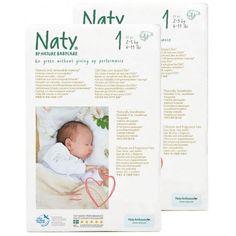Couches Naty New Born T1 52u.