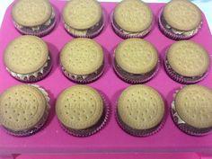 Cupcakes de galleta María