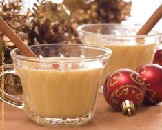 Here s a delicious alternative to traditional egg nog. This allergy-friendly egg nog, made without dairy and eggs, is sweetened naturally without processed sugar.