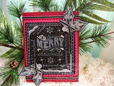 By Bibiana; DIY use all kinds of sentiment stamps to make your own Chalkboard card.