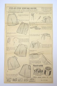 The Sewing Pattern Tutorials, a tool for demystify sewing patterns. Learn about the basics of using dressmaking patterns and fitting.