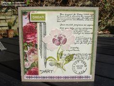 hellemors.blogspot.dk I Card, Paper Crafts, Stamp, Letters, Blog, Inspiration, Crafting, Design, Friends